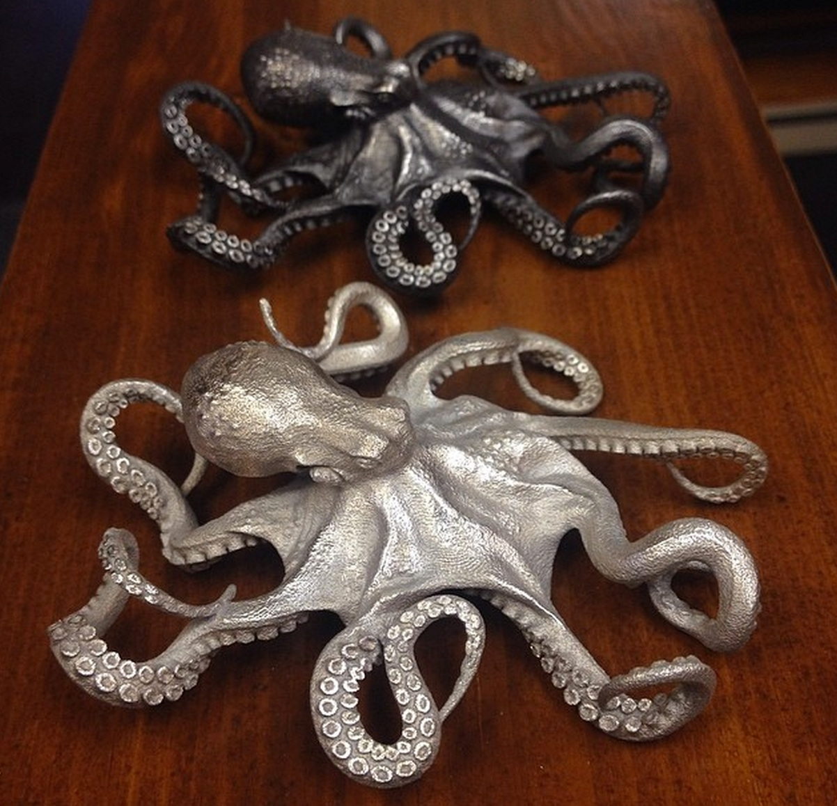 Design of the Week: Octopus Pendant – Damascus