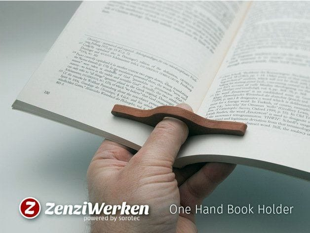 , Design of the Week: One Hand Book Holder