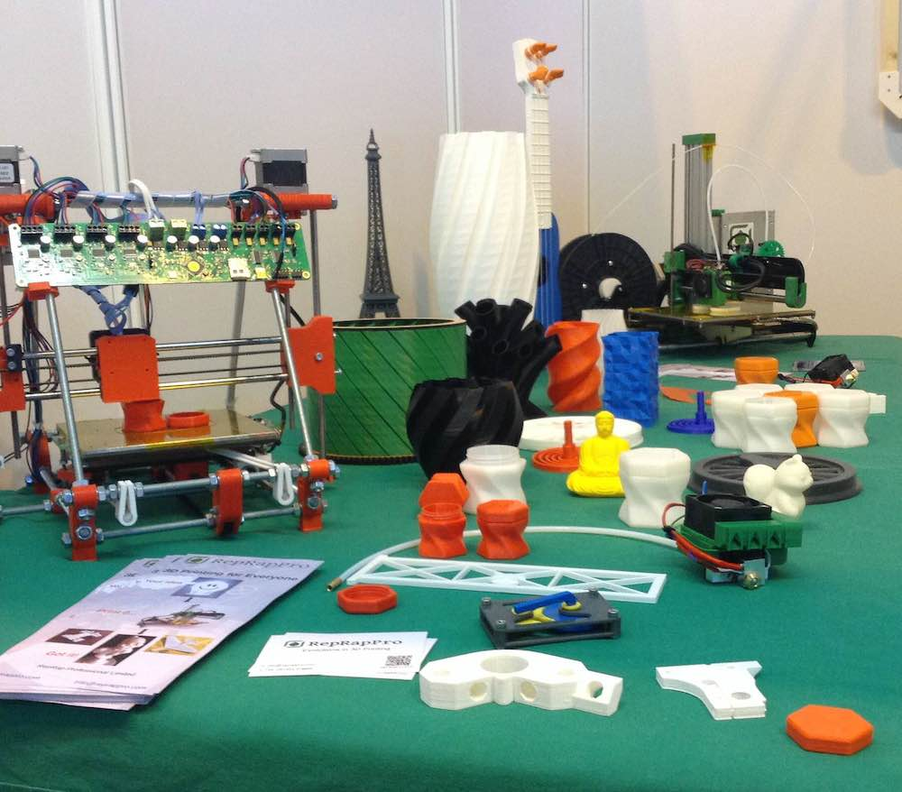 RepRapPro's Ormerod 2 3D Printer