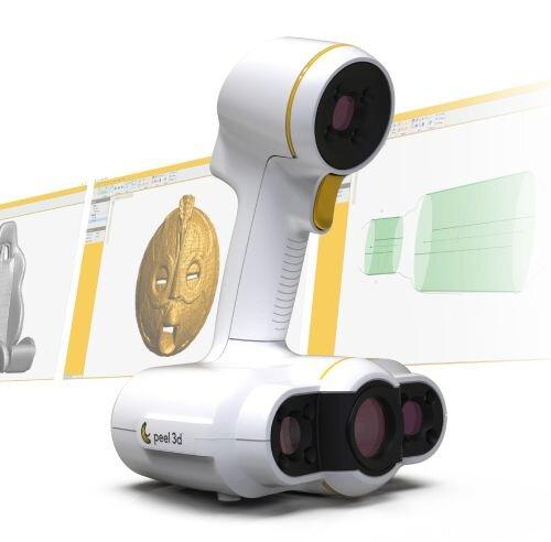 , peel 3D Announces The peel 2 CAD 3D Scanner