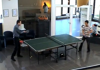 3D Ping Pong by Materialise