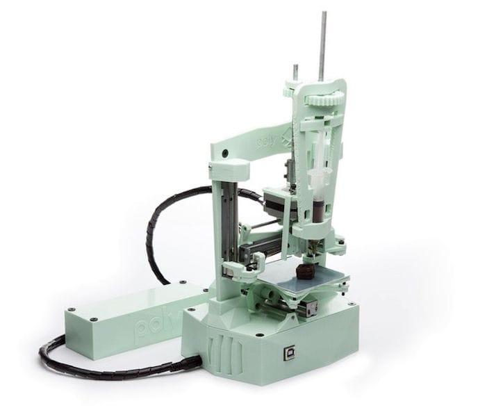 The Battery Powered Poly Desktop 3D Printer
