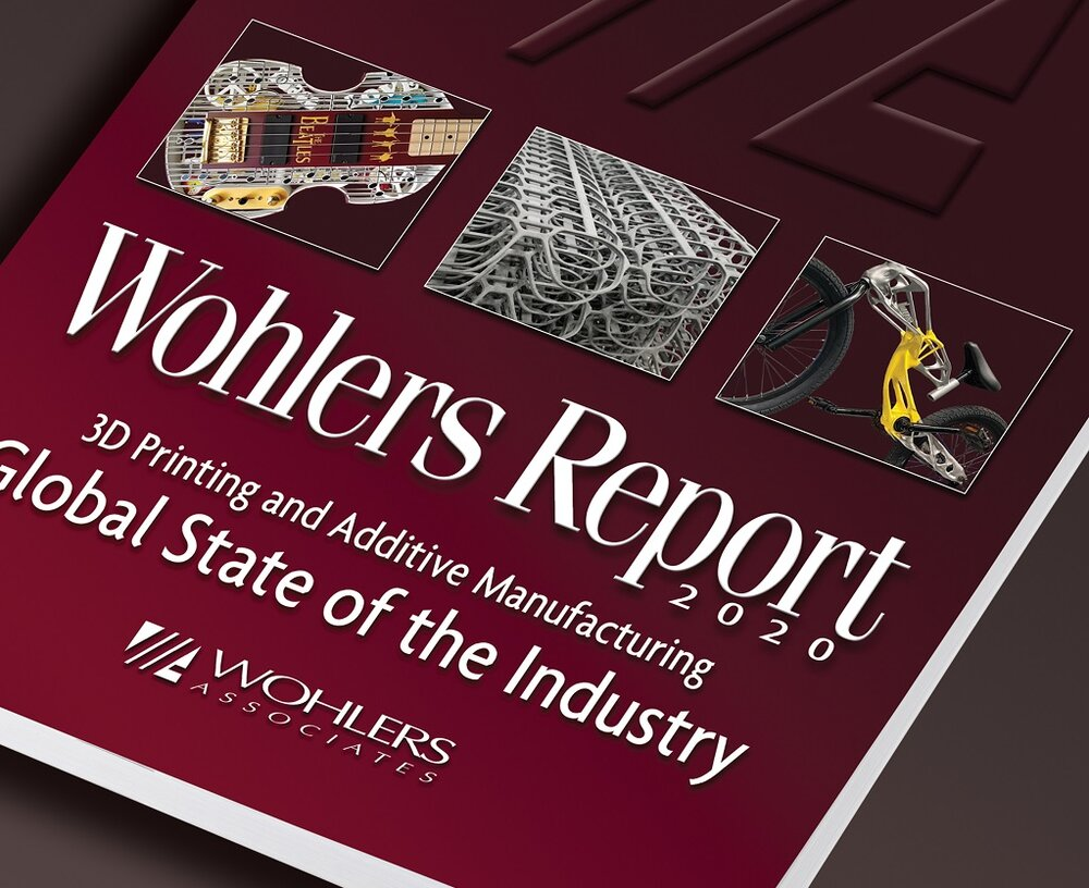 Wohlers Report 2020 Details A Maturing Additive Manufacturing Industry