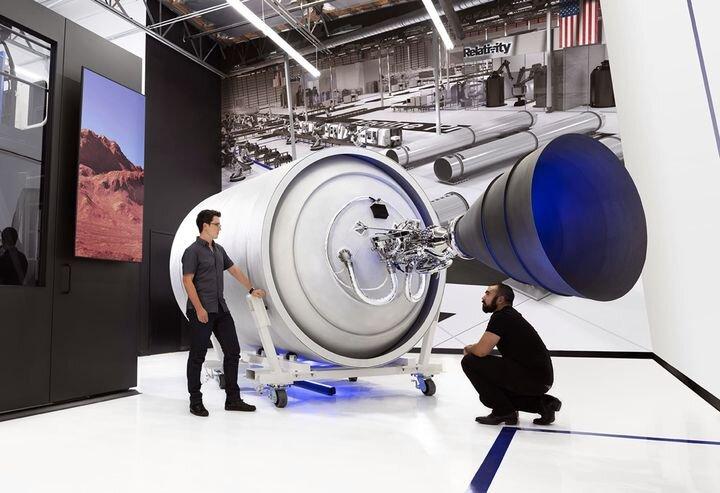 Relativity Space's 3D printed rocket [Source: TechCrunch]