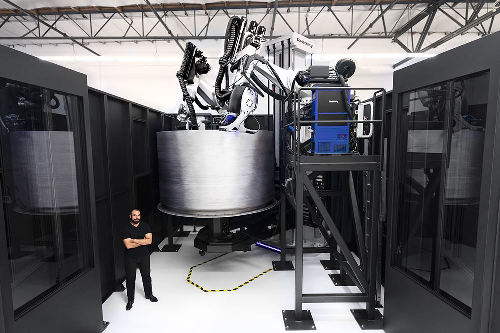 3D Printed Rockets Taking Off: $140M For Relativity Space