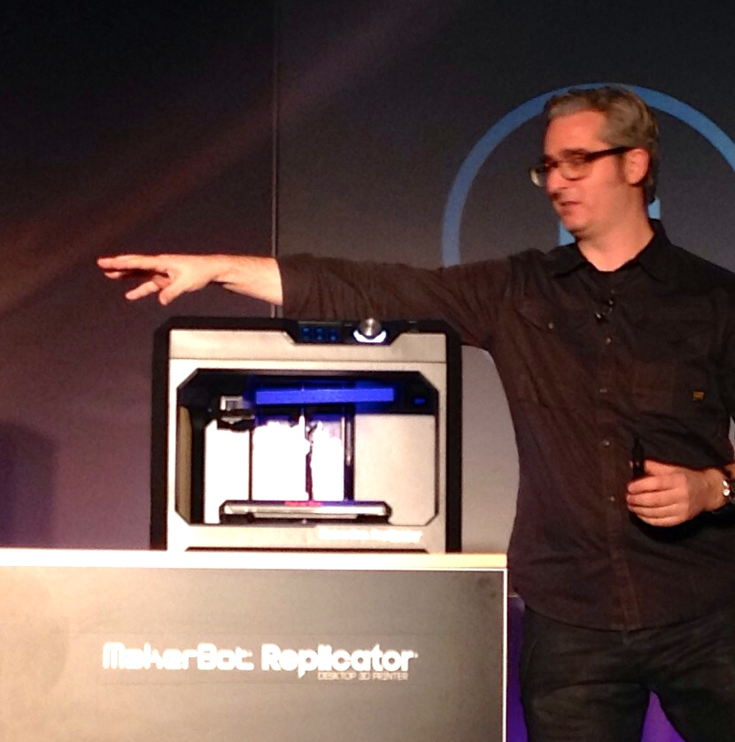 MakerBot's Stunning Announcements