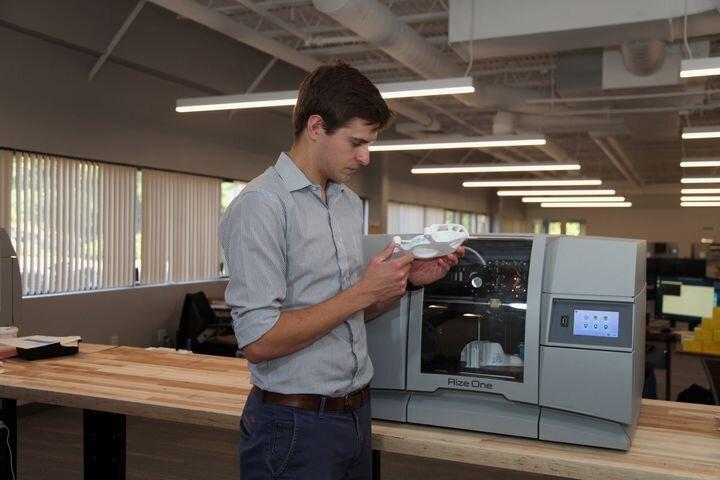 Rize 3D printer [Source: SolidSmack]