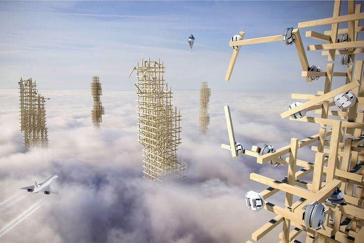 Robotically assembled structures? [Source: University of Stuttgart]