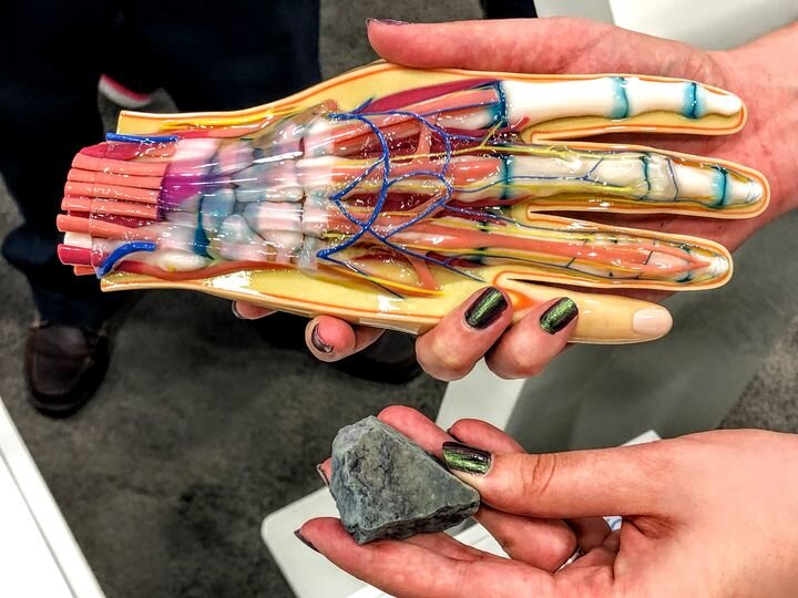 Fabbaloo Managing Editor Sarah's hands will be back on 3D printing starting tomorrow [Source: Fabbaloo]