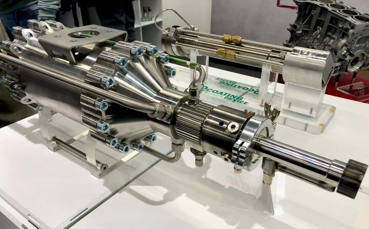Toolhead from SBI International's M3D-P metal 3D printing system [Source: Fabbaloo]