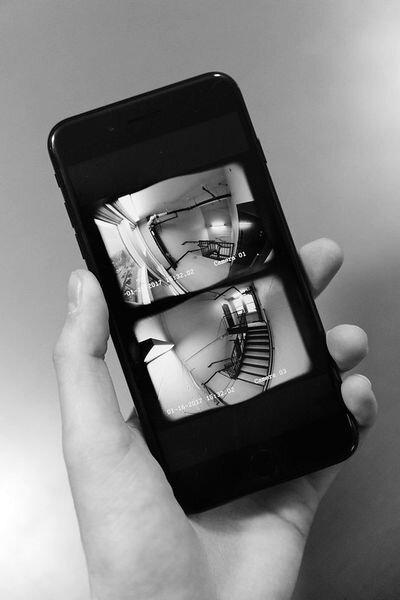 The Home+ app [Source:  Hochgatterer.com ]