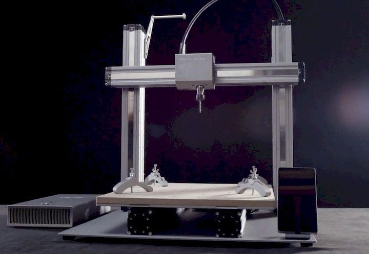 The Snapmaker multi-tool 3D printer [Source: Kickstarter]