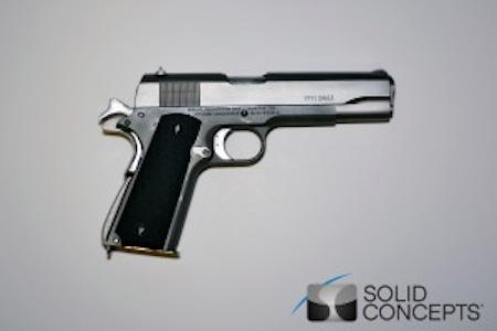 Solid Concepts' Printed Metal Gun on Sale
