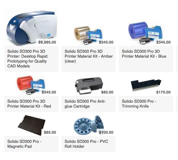 Solido: The Zombie 3D Printer Company?