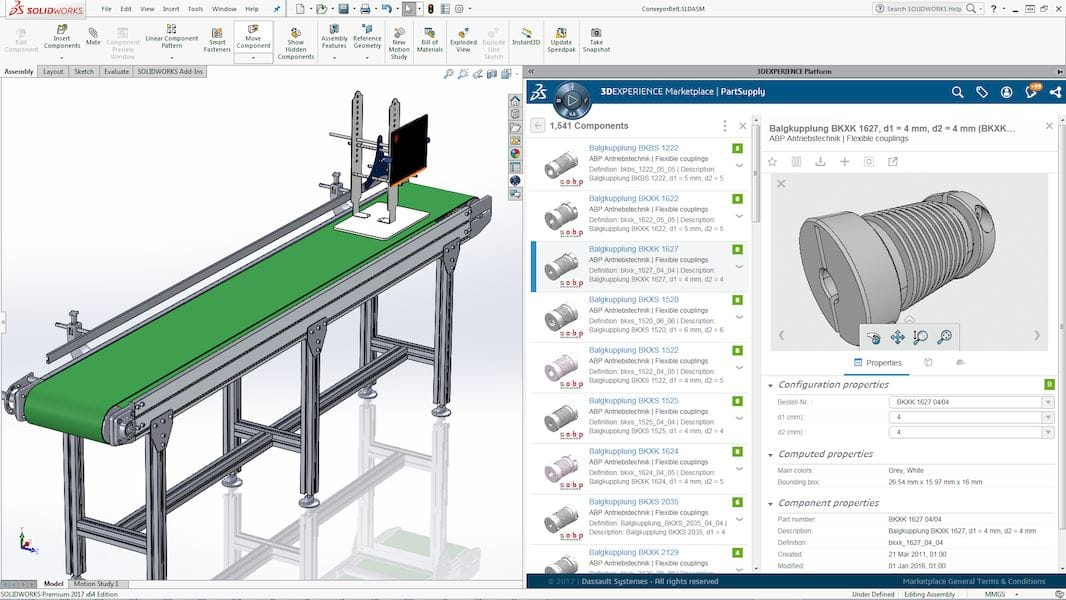 Solidworks'