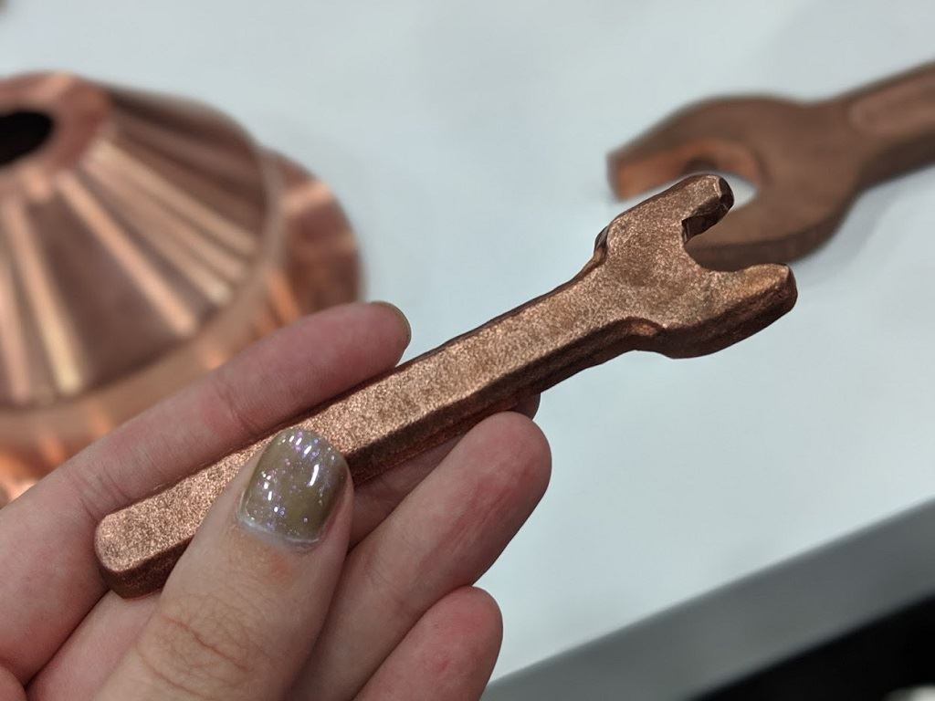 15-minute creation time for this helpful spanner [Image: Fabbaloo]