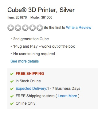 Massive News: Staples To Sell The Cube