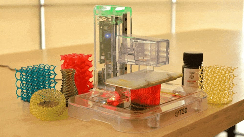 The T3D Smartphone 3D Printer is Now Available For Order