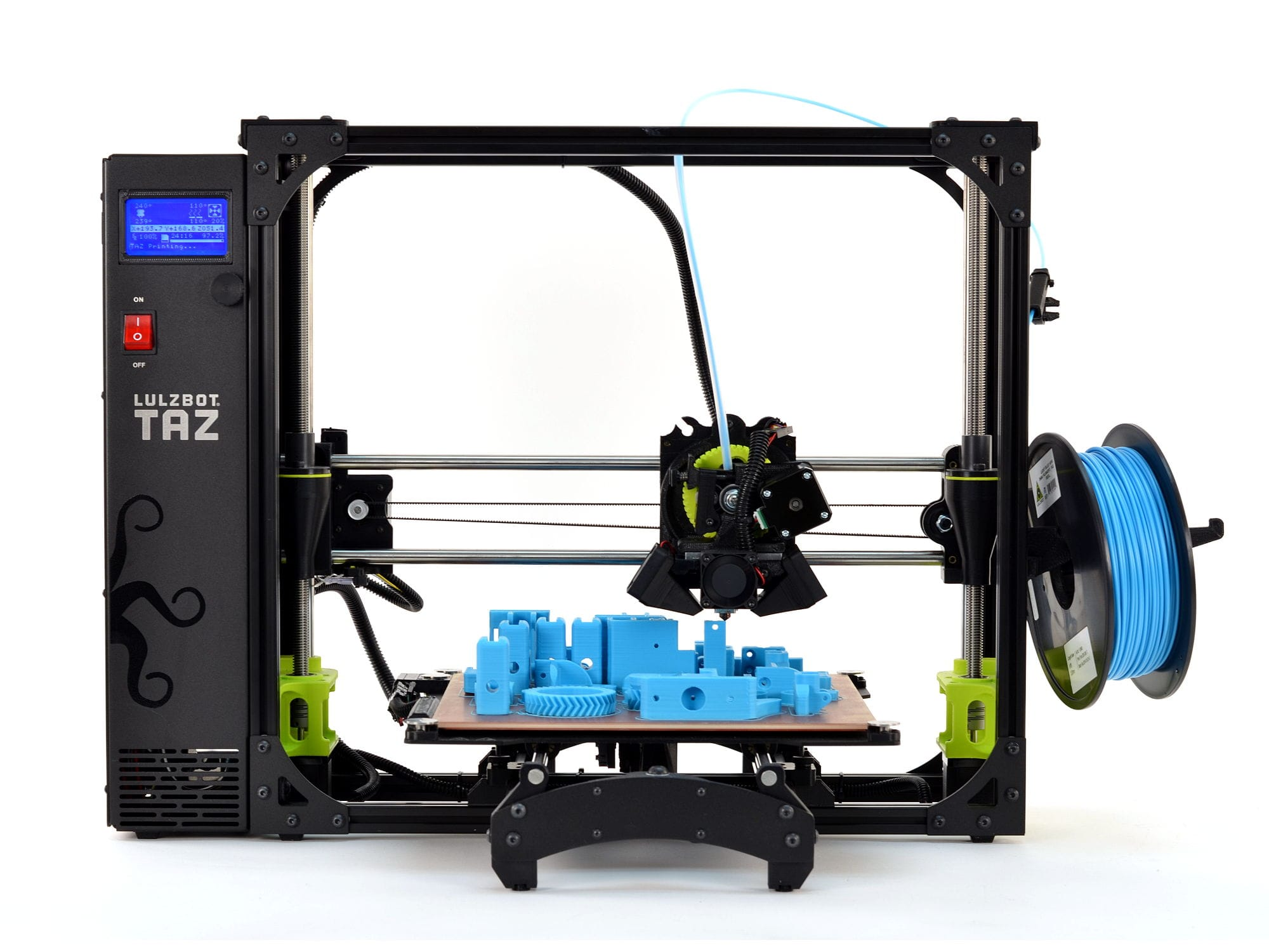 Front view of the current LulzBot TAZ 6
