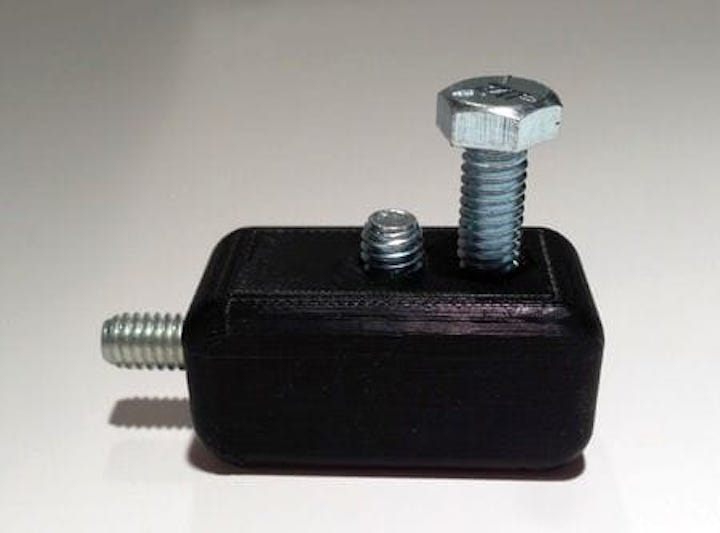 Embedding nuts and bolts in 3D prints [Source: Fabbaloo]