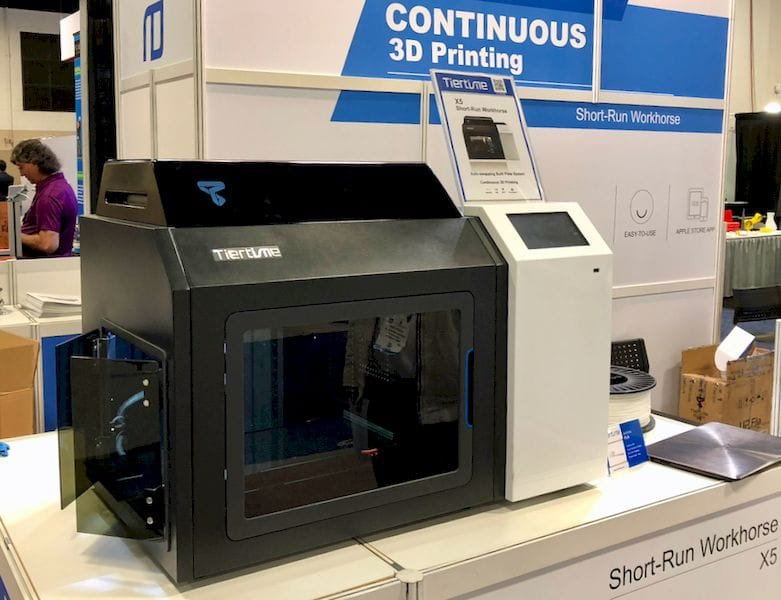 Tiertime's Continuous 3D Printing Feature