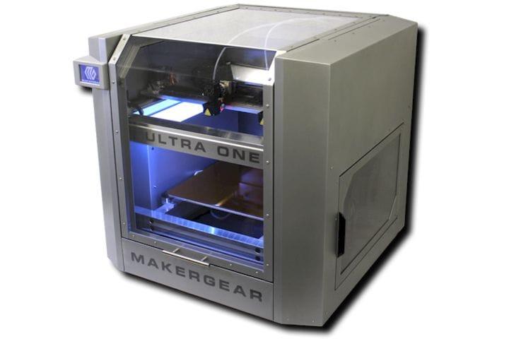 MakerGear's brand new Ultra One [Source: MakerGear]