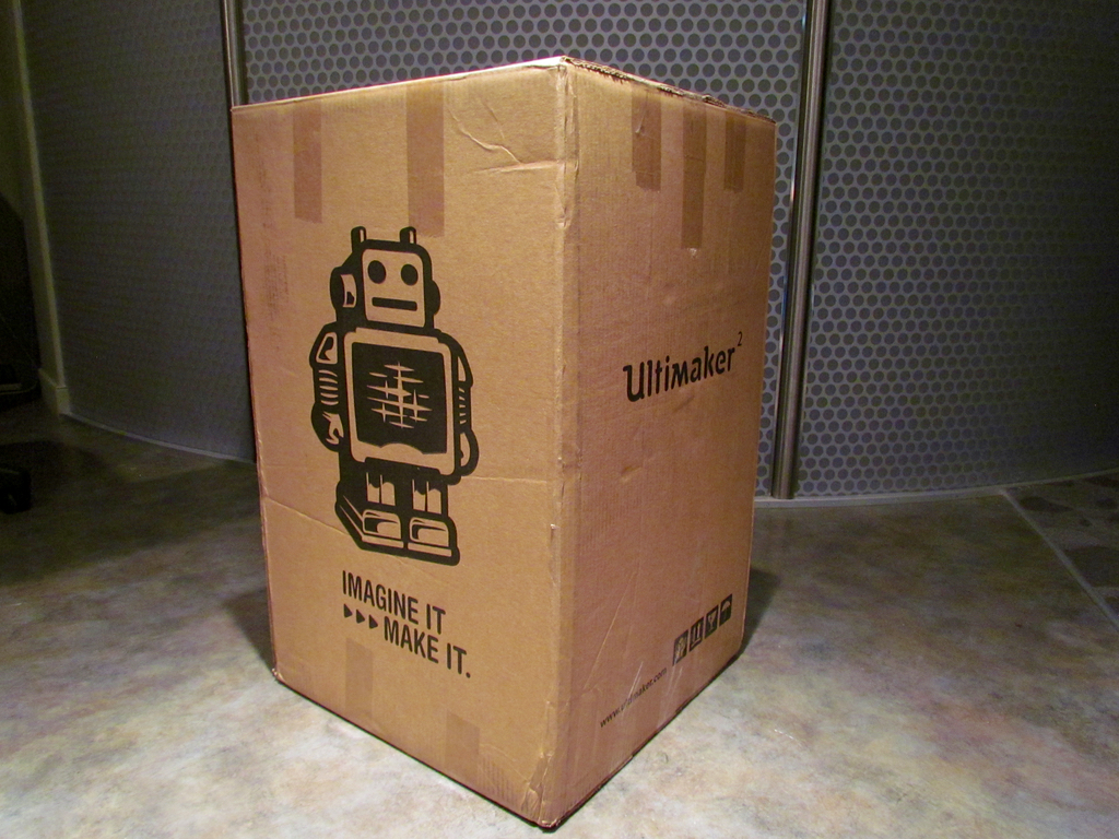 Hands On With The Ultimaker 2 Extended: Unboxing and Setup