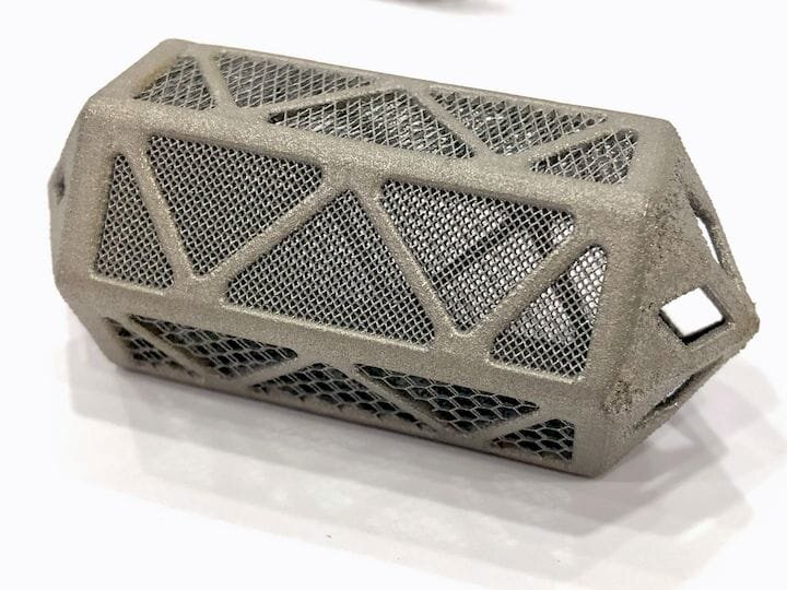 A highly complex metal 3D print by VELO3D — made without support structures! [Source: Fabbaloo]