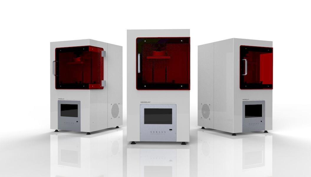 A High-Quality Resin 3D Printer: The Microlay Versus