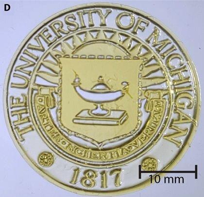 Volumetric 3D print sample [Source: U of Michigan]