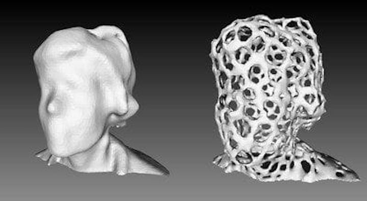 How to create a voronized 3D model [Source: Fabbaloo]