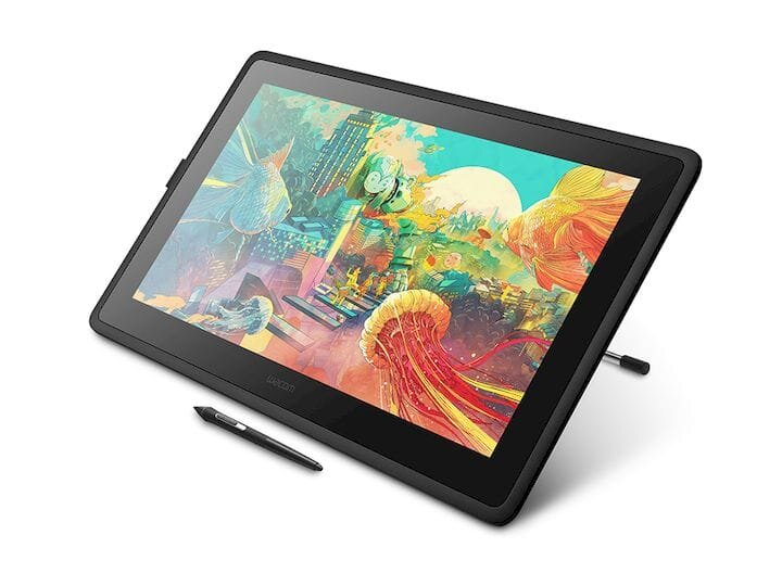 , The Cintiq 22 Adds A Bigger Screen To Wacom's Entry-Level Pen Display Tablets