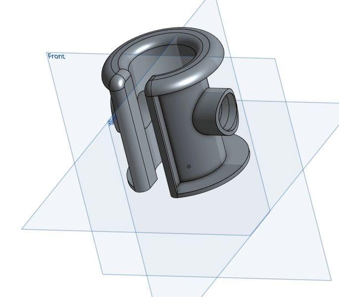 A random 3D model [Source: Fabbaloo]