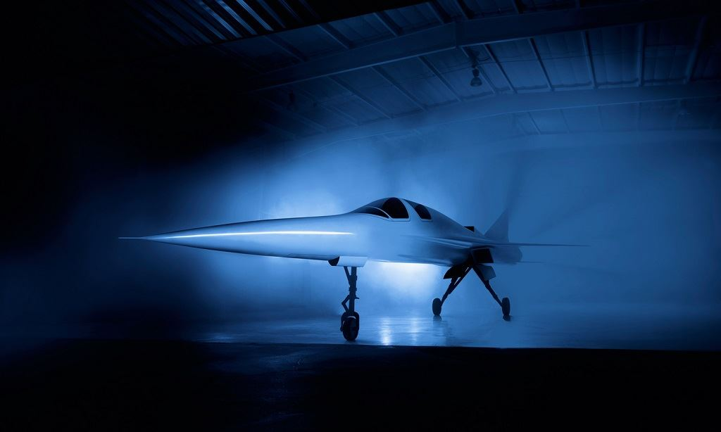 The XB-1 supersonic demonstrator aircraft [Image: Boom Supersonic]