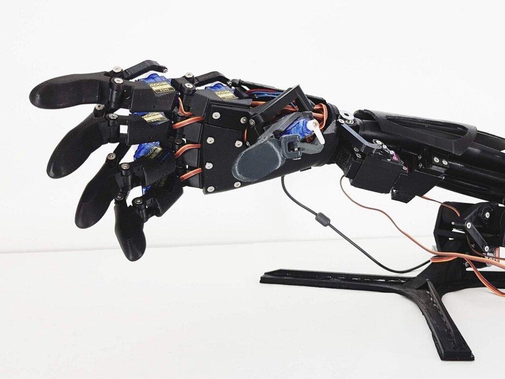 DIY Desktop Robotic Dexterity With The Youbionic Human Arm