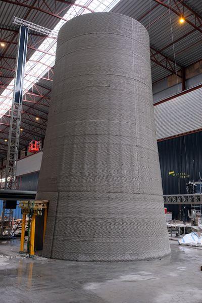 COBOD 3D Printing 200m Turbine Tower!