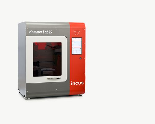 Finely-Detailed Metal 3D Prints From The Incus Hammer Lab35