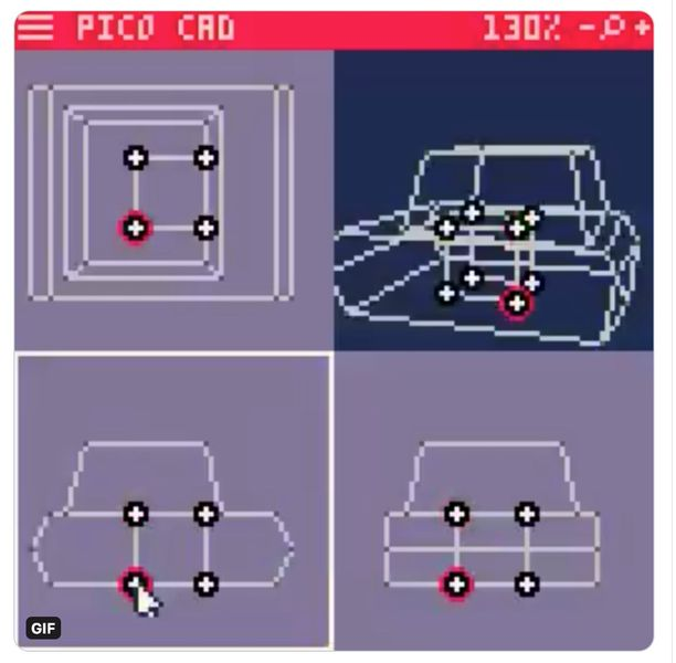 Behold: Pico CAD