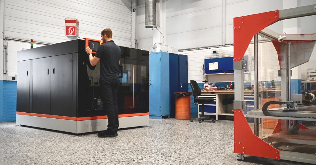 Reimagining The Supply Chain With Large-Format 3D Printing