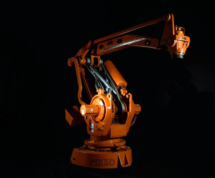MX3D Completes 3D Printed Robot Arm Project