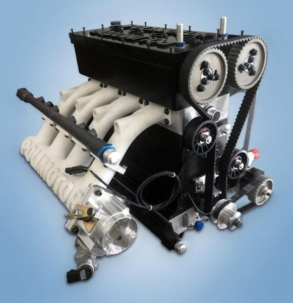 Polimotor's 3D Printed Plastic Internal Combustion Engine