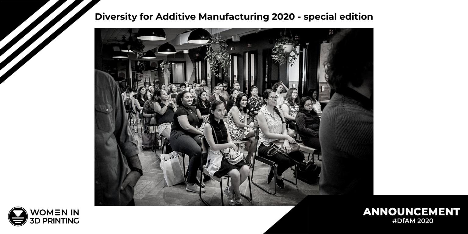 Feedback Wanted For Women In 3D Printing Special Edition Of Diversity For Additive Manufacturing Report