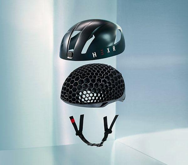Startup's Bike Helmet is Custom Fit, 3D Printed Honeycomb