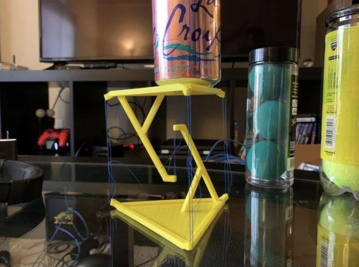 本週設計:不可能的桌子
