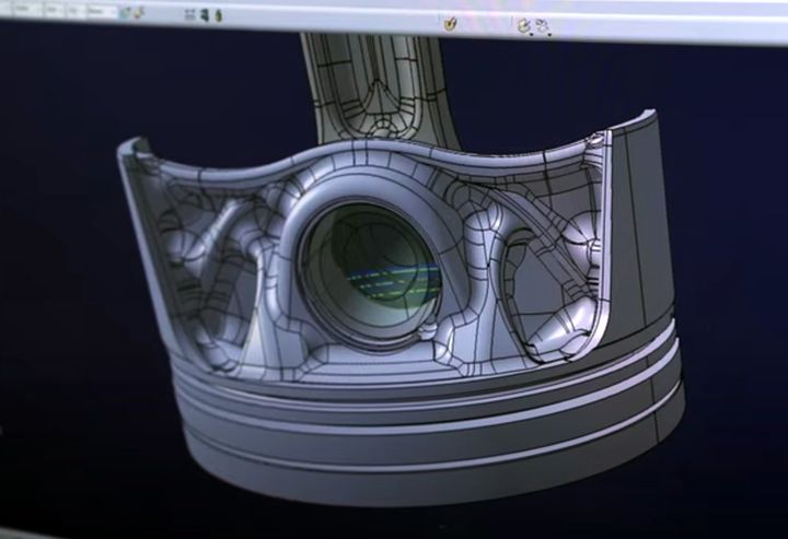 Porsche's 3D Printed Pistons Demonstrate High Efficiency