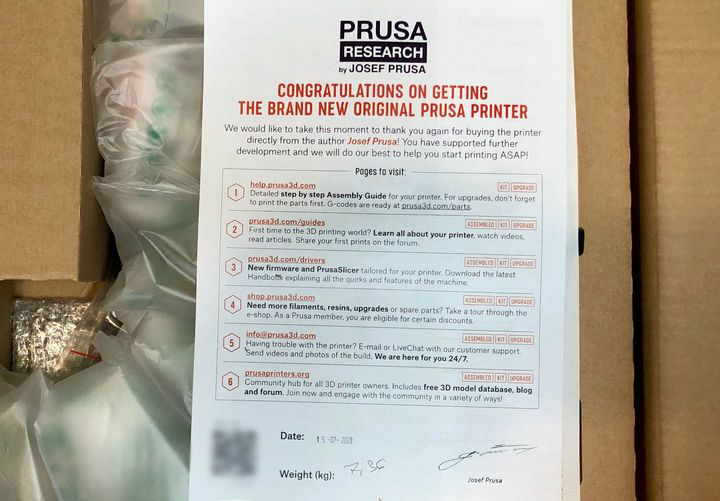 Hands On With The Prusa MINI 3D Printer, Part 1