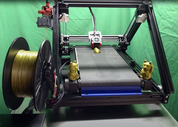 Creality Developing Belt-Driven Desktop 3D Printer