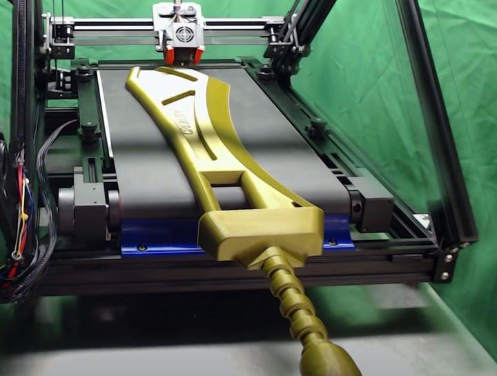 Creality Developing Belt-Driven Desktop 3D Printer