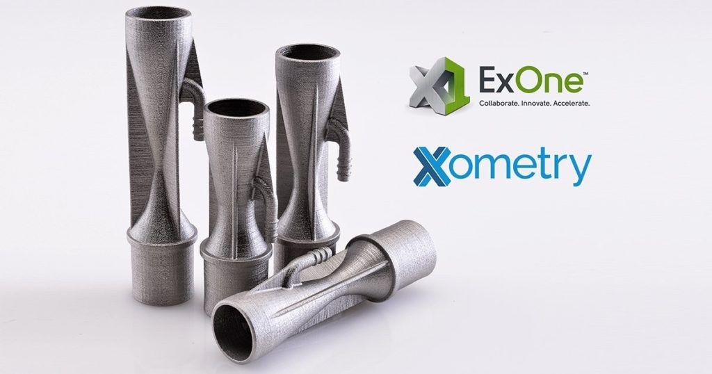 Xometry x ExOne: Binder Jetting Joins Digital RFQ Marketplace