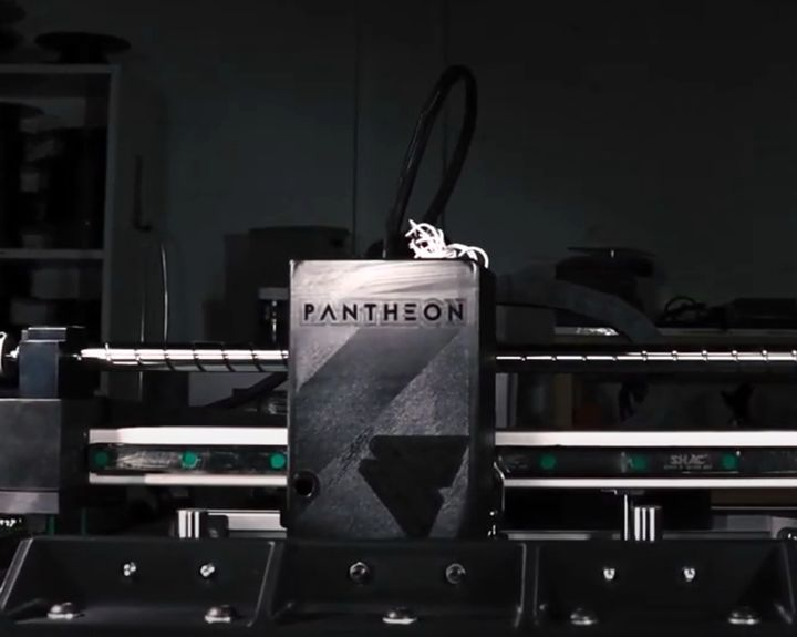 Pantheon Developing Very High Speed 3D Printer